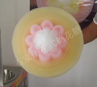 石家庄向日葵形花式棉花糖